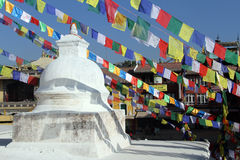 Small stupa Stock Image