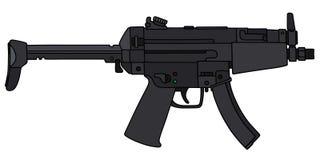 Small submachine gun Stock Images