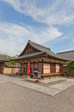 Small subordinate temple in Toji Temple of Kyoto. UNESCO site Stock Photo