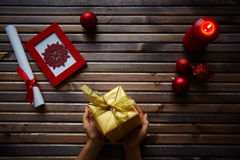 Small surprise for Christmas Royalty Free Stock Photography