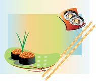 Small sushi Royalty Free Stock Photography