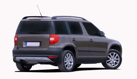 Small suv Stock Photo