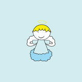 Small and sweet angel Royalty Free Stock Photos