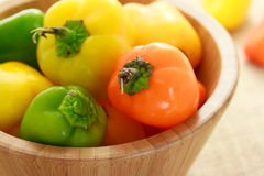 Small sweet peppers Stock Images