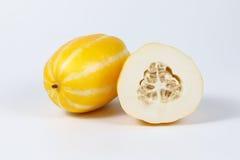 Small Sweet Yellow Melon Stock Photo