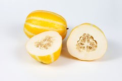 Small Sweet Yellow Melon Stock Images
