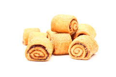 Small Swiss Rolls Royalty Free Stock Photography