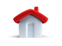 Small symbolic house 3d render Stock Photo