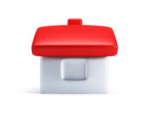 Small symbolic house 3d render Royalty Free Stock Photography