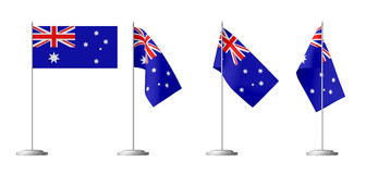 Small table flag of Australia Stock Photography