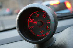 A small tachometer Royalty Free Stock Photography