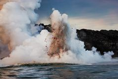 Have a Lava Blast royalty free stock photography
