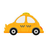 Small taxi car Royalty Free Stock Photography