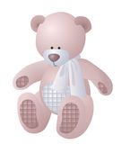 Small teddy bear Stock Images