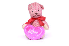 Small Teddy Bear Toy - Stock Image Royalty Free Stock Photography