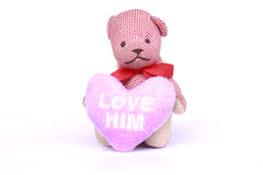 Small Teddy Bear Toy - Stock Image Royalty Free Stock Image