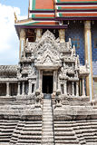 Small temple design in stone Royalty Free Stock Image