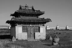 Small temple of Erdene Zuu Monastery Stock Images