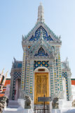 Small temple inside Wat Phra Kaew in Bangkok, Thailand Royalty Free Stock Photo