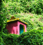 Small temple in the jungle Royalty Free Stock Images
