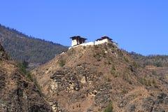Small temple on the mountain Stock Photos