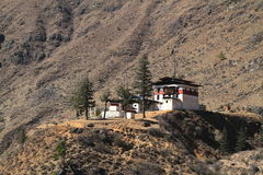 Small temple on the mountain Royalty Free Stock Photos