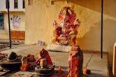 A small temple near Pushkar, India. royalty free stock photos