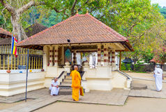 The small temple next to the Bodhi Tree Royalty Free Stock Photography