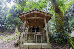 Small temple, Shirahige Shrine Royalty Free Stock Photo