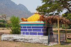 Small Temple in Tamil Nadu. Hindu temple in Mudumalai National Park, India Royalty Free Stock Image