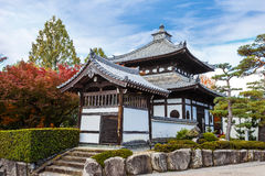 Small temple at Tofukuji complex in Kyoto Royalty Free Stock Images