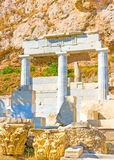 The small temple under Acropolis Stock Photography