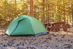 Small tent Stock Image