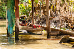 Small thai boat Stock Photography