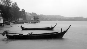 Small Thai boats Royalty Free Stock Images