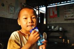 Small Thai school boy Stock Photography