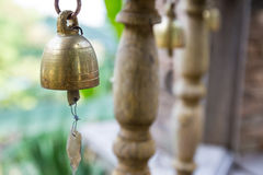 Small Thai style bell Stock Images