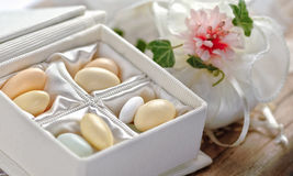 Small thank you gift for wedding reception Stock Photography