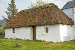 Small Thatched Cottage. Stock Images