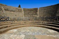 The Small Theatre, Pompeii Royalty Free Stock Photo