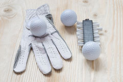 Small things for golf Royalty Free Stock Image