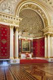 Small Throne Hall of the Winter Palace (Hermitage), St.Petersbur Royalty Free Stock Photo
