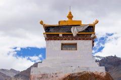 A small Tibetan monastery in the mountains. royalty free stock photos