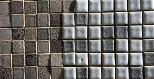 Small tile grid. An eclectic mix of styles Royalty Free Stock Images