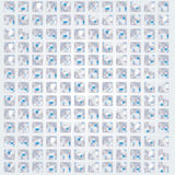 Small tiles and mosaic pattern Royalty Free Stock Photo