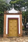 Small Tiradentes church stock image