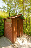 Small toilet hut Royalty Free Stock Photos