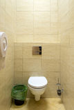 Small toilet in a public building Stock Images