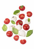 Small tomatoes and cheese Royalty Free Stock Photo