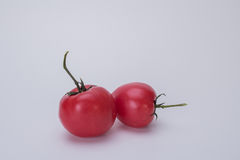 Small tomatoes. Rich nutrition of tomato, it is health food for young and old Royalty Free Stock Photo